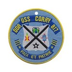 USS CORRY Ornament (Round)