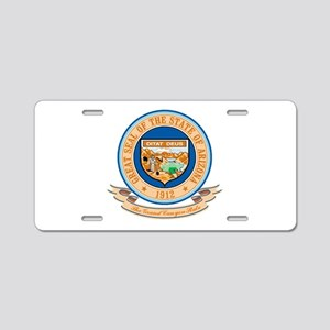 Arizona Seal Aluminum License Plate