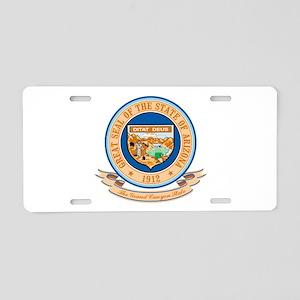 Arizona Seal Aluminum License Plate