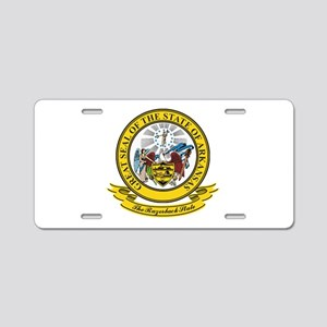 Arkansas Seal Aluminum License Plate