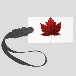 Canada Maple Leaf Large Luggage Tag