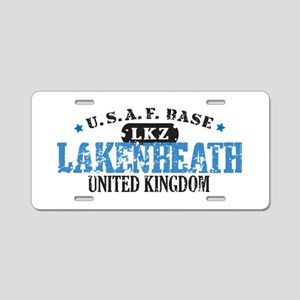 Lakenheath Air Force Base Aluminum License Plate