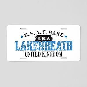 Lakenheath Air Force Base Aluminum License Plate
