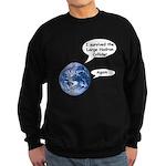 I survived the LHC again Sweatshirt (dark)
