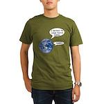 I survived the LHC again Organic Men's T-Shirt (da