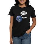 I survived the LHC again Women's Dark T-Shirt