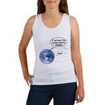 I survived the LHC again Women's Tank Top