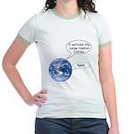 I survived the LHC again Jr. Ringer T-Shirt