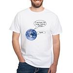 I survived the LHC again White T-Shirt