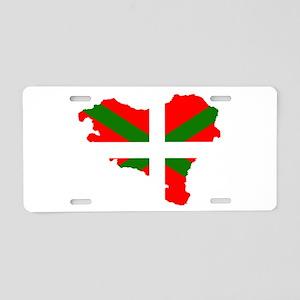 Euskal Herria Aluminum License Plate