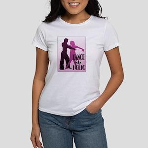 DANCE -A- HOLIC PURPLE Women's T-Shirt
