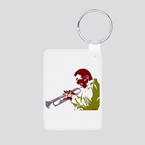 miles Aluminum Photo Keychain