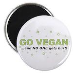 Go Vegan Magnet