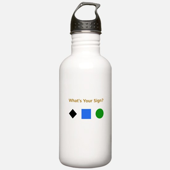 What's Your Sign? Water Bottle