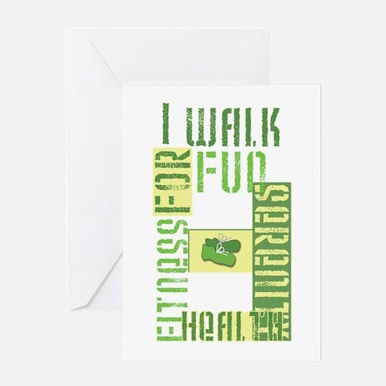 I Walk for Fun... Greeting Card