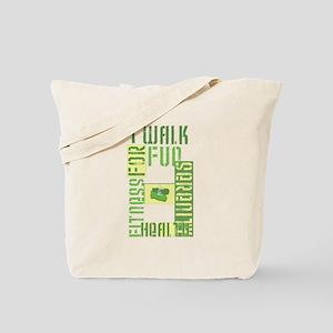 I Walk for Fun... Tote Bag