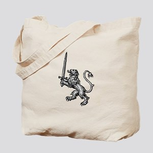 Lion Sword Tote Bag