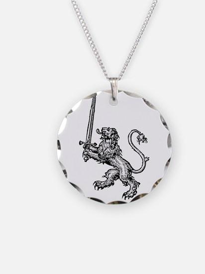 Lion Sword Necklace