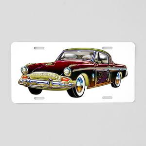 Classic Custom Studebaker Aluminum License Plate