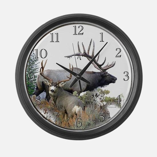 Big Game Large Wall Clock