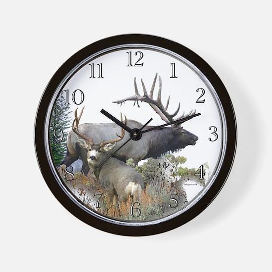 Big Game Wall Clock