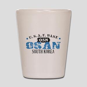 Osan Air Force Base Shot Glass