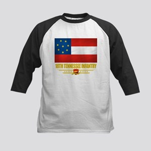 18th Tennessee Infantry Kids Baseball Jersey