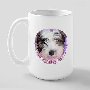 Tibetan Terrier Large Mug