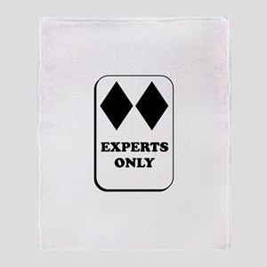 Experts Only Throw Blanket