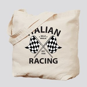 Italian Racing Tote Bag