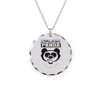 Crunk Panda™ Necklace Circle Charm
