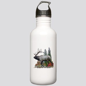 Bull Elk Stainless Water Bottle 1.0L