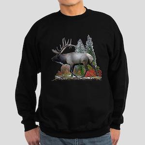 Bull Elk Sweatshirt (dark)