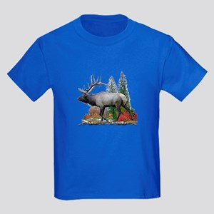 Bull Elk Kids Dark T-Shirt