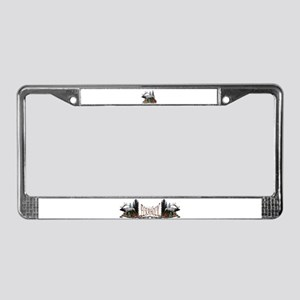 Bull Elk License Plate Frame
