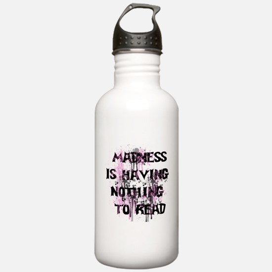 Reading Madness Water Bottle