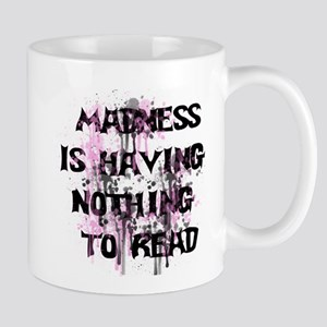 Reading Madness 11 oz Ceramic Mug