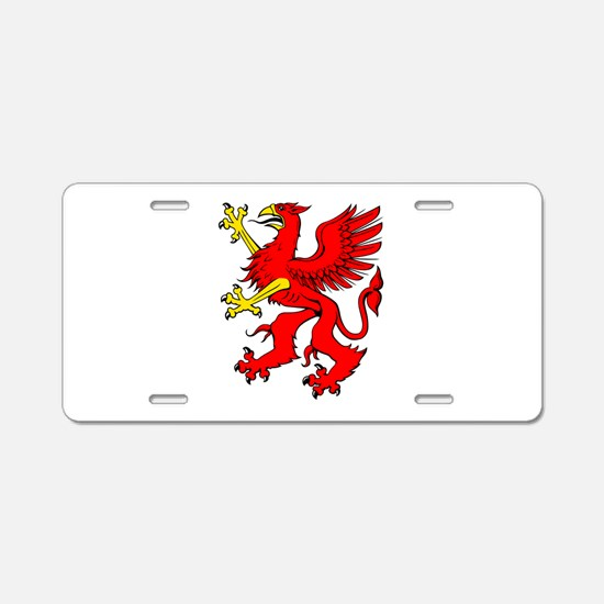 Griifin Aluminum License Plate