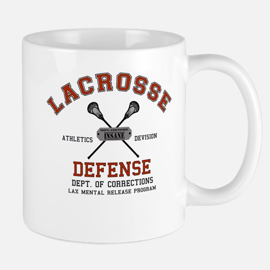 Lacrosse Defense Mug