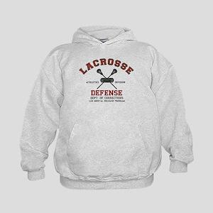 Lacrosse Defense Kids Hoodie