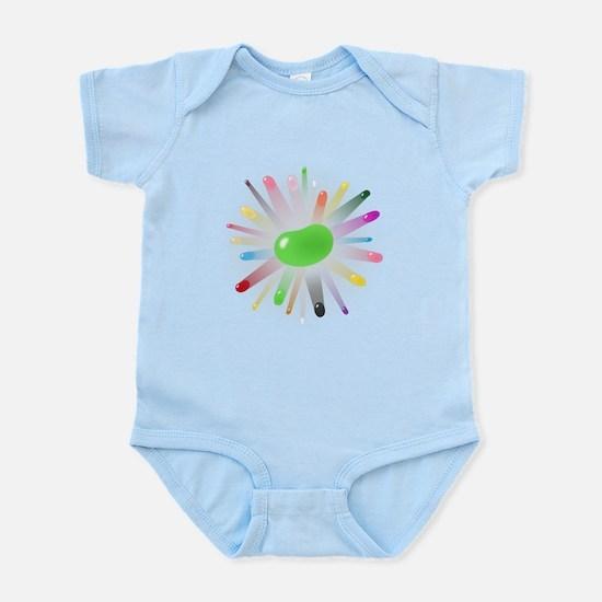 green jellybean blowout Infant Bodysuit