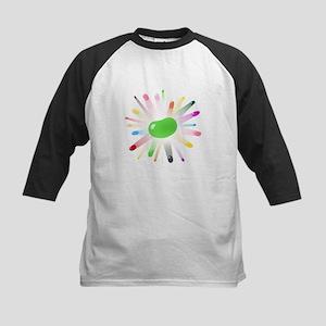 green jellybean blowout Kids Baseball Jersey