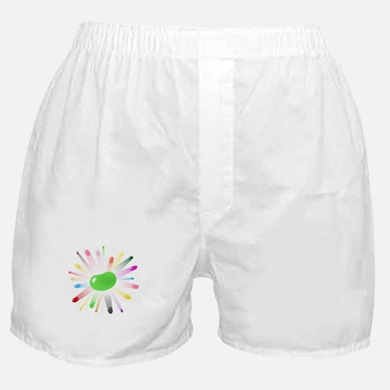 green jellybean blowout Boxer Shorts