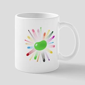 green jellybean blowout Mug