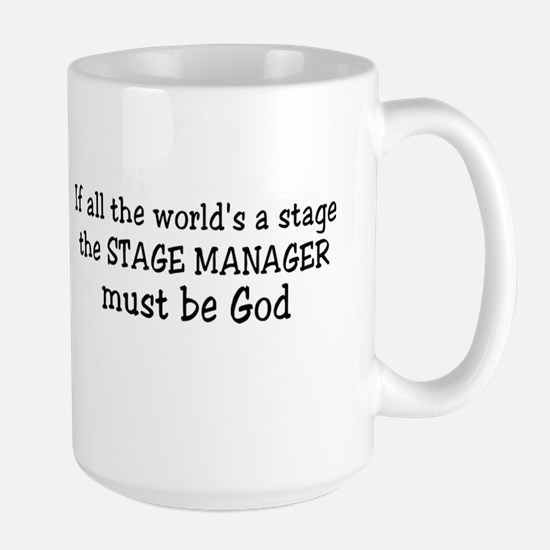 Stage Manager Large Mug