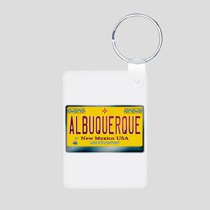 """""""ALBUQUERQUE"""" New Mexico License Plate Aluminum Ph"""