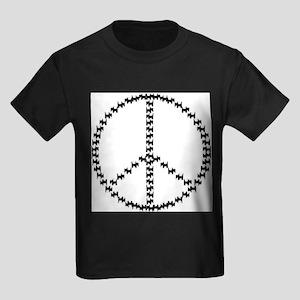 PEACEFUL SCOTS Kids Dark T-Shirt