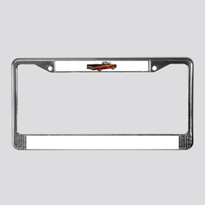 Classic Pontiac Convertible License Plate Frame