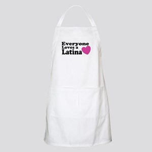 Everyone Loves a Latina BBQ Apron