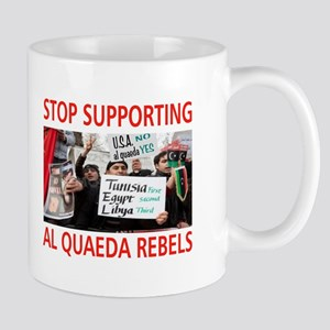 OBAMA HELPING AL QUAEDA Mug